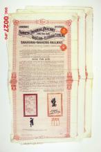 Shanghai-Nanking Railway, 1904. British and Chinese Corp. Ltd.