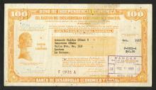Banco de Desarrollo Economico Y Social. 1957 Bond