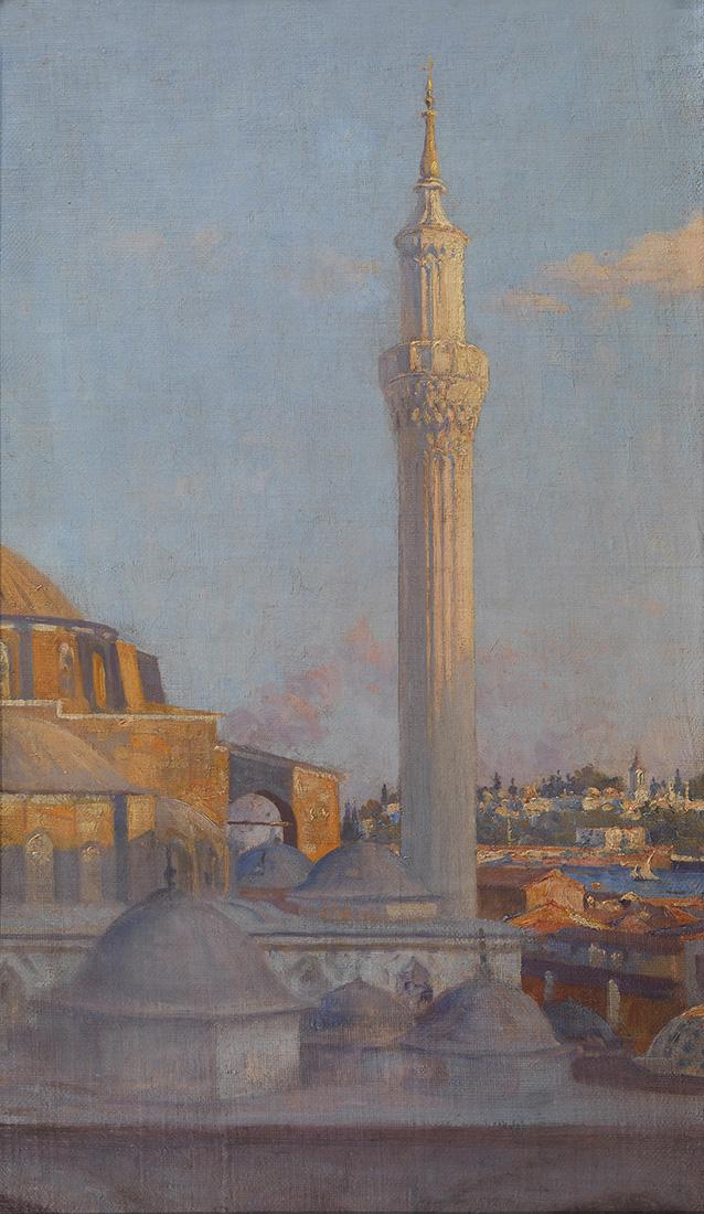 Nikolaos ALEKTORIDES - Greek, 1874-1909 | Hagia Sophia, Constantinople
