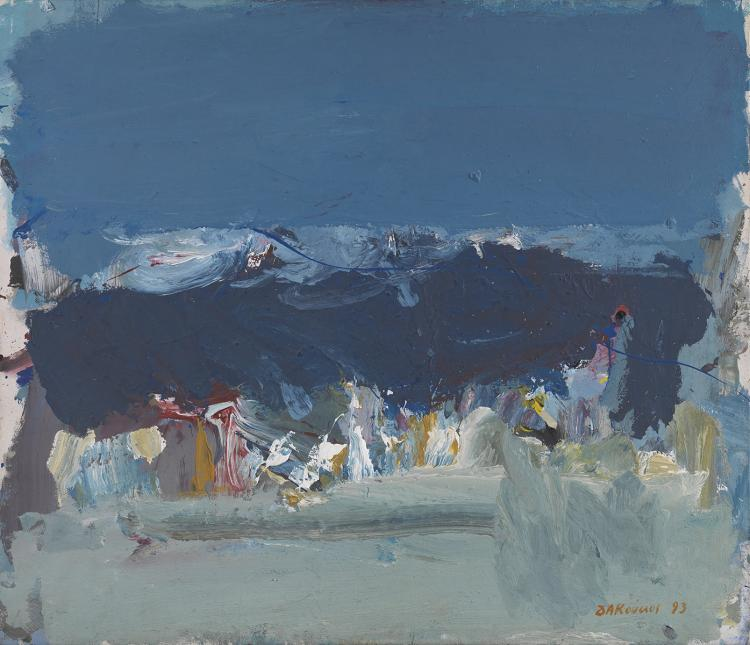 Dimitris KOUKOS - Greek, born 1948 | Attica landscape