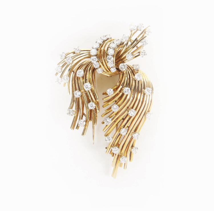 VOURAKIS - Greek jeweller | Node brooch