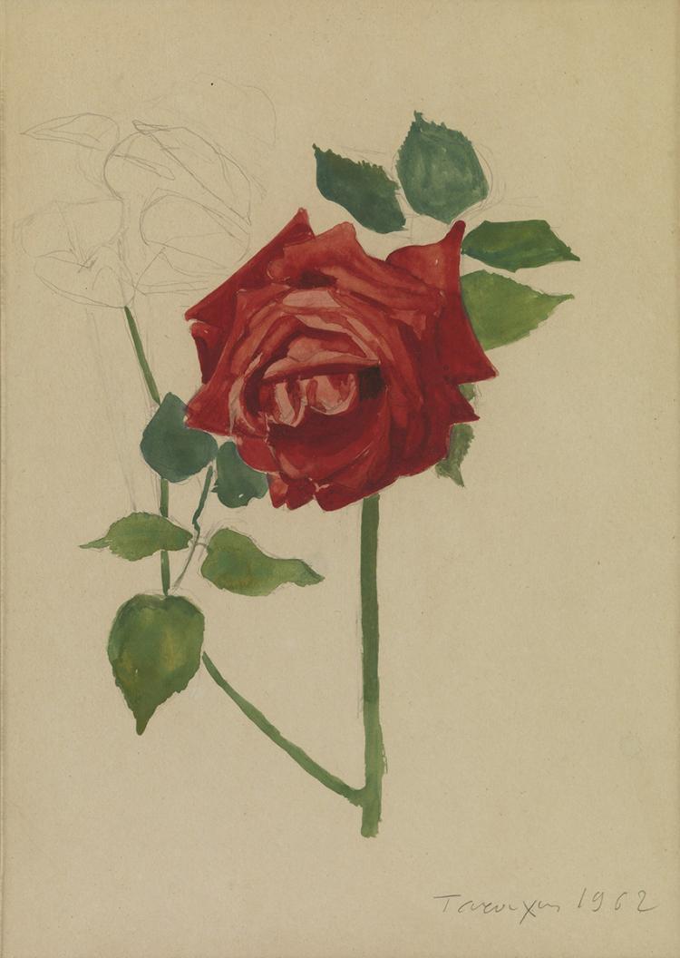 Yiannis TSAROUCHIS - Greek, 1910-1989 | Roses