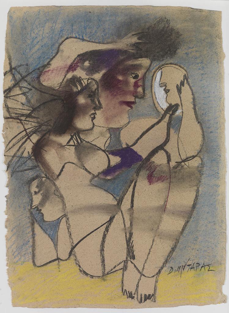 Dimitris MYTARAS - Greek, 1934-2017   Commedia dell'Arte