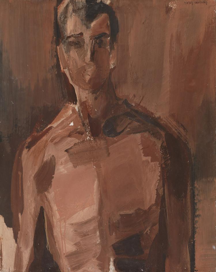 Manolis CALLIYANNIS - Greek, 1923-2010 | Etude pour homme