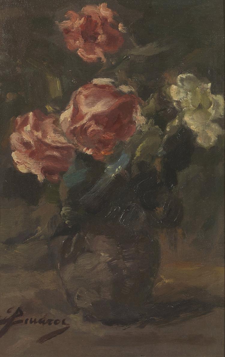 Spyridon VICATOS - Greek, 1878 -1960 | Vase of flowers