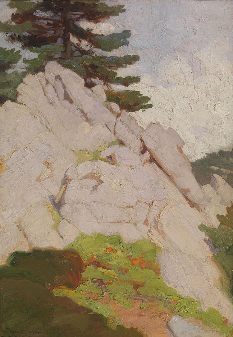 Apostolos GERALIS - Greek, 1886-1983 | Mountainscape
