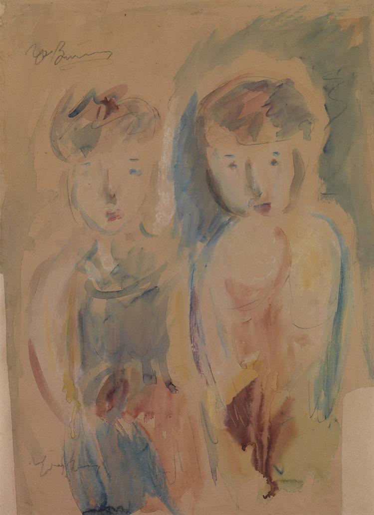 Georgios BOUZIANIS - Greek, 1885 -1959 | Children's figures