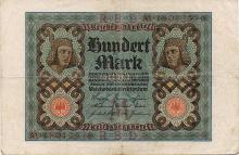 100 MARK 1920 GERMANY