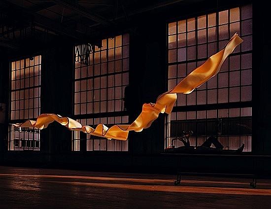 Ingo MAURER (Né en 1932) Exceptionnel luminaire