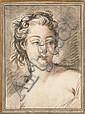 Par Gilles Demarteau D'après François Boucher Etudes de têtes de femmes Deux gravures à la manière des trois crayons, Gilles Demarteau, Click for value