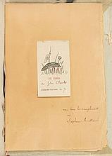 MALLARME (S.) & MANET (E.).  L'APRES-MIDI D'UN FAUNE. ÉGLOGUE