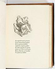Pierre de RONSARD - Aristide MAILLOL  LIVRET DE FOLASTRIES, A JANOT PARISIEN