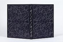 Georges BATAILLE - Jean FAUTRIER  L'ALLELUIAH (CATECHISME DE DIANUS). AVEC NEUF DESSINS ORIGINAUX, LITHOGRAPHIES ET LETTRINES DE JEA..