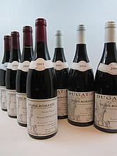 10 bouteilles 1 bt : VOSNE ROMANEE 2001 Vieilles Vignes. Bernard Dugat Py