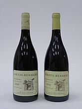 12 bouteilles 7 bts : CORTON RENARDES 2009 Grand Cru. Marius Delarche