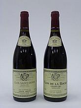 12 bouteilles 8 bts : CLOS DE LA ROCHE 1996 Grand Cru. Louis Jadot