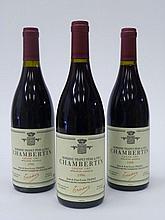 12 bouteilles CHAMBERTIN 1996 Grand Cru