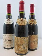 6 bouteilles 2 bts : CORTON 1995 Grand Cru. Bouchard Père & Fils