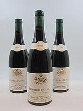 6 bouteilles CHAMBOLLE MUSIGNY 1989 Fougeray de Beauclair.