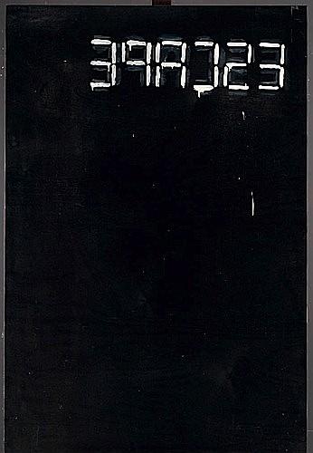 Bruno PEINADO (né en 1970) SANS TITRE, 2002 Acrylique sur panneau