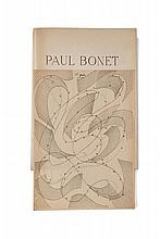 [Paul BONET] Paul VALERY, Paul ÉLUARD, R. MOUTARD-ULDRY, Georges BLAIZOT, L.-M. MICHON  PAUL BONET