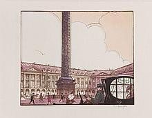¤ VUES DE PARIS,16 bois en couleurs de Robert Bonfils