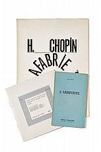 Henri CHOPIN  L'ARRIVISTE, SQUELETTE DU VERBE, THE COSMOGRAPHICAL LOBSTER, AUDIO-POEMES - SQUELETTE DU VERBE ET ALENTOUR