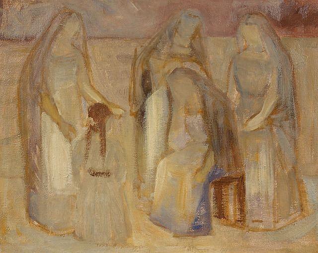 Louis LILLE (Podwoloczyska, 1897 - Paris, 1957) Ensemble de 2 oeuvres sur toile