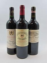 5 bouteilles 1 bt : CHÂTEAU BEAUSEJOUR BECOT 2003 1er GCC (B) Saint Emilion