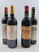 6 bouteilles 1 bt : CHÂTEAU BATAILLEY 1961 5è GC Pauillac (légèrement bas, étiquette tachée)