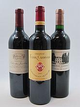 5 bouteilles 1 bt : CHÂTEAU DASSAULT 2003 GCC Saint Emilion