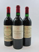 7 bouteilles 1 bt : CHÂTEAU DE SALES 1982 Pomerol