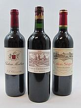 6 bouteilles 2 bts : CHÂTEAU COS D'ESTOURNEL 2008 2è GC Saint Estèphe