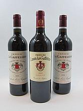 6 bouteilles 2 bts : CHÂTEAU LA GAFFELIERE 2003 1er GCC (B) Saint Emilion
