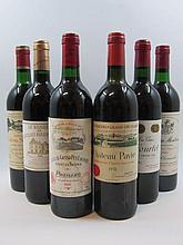 10 bouteilles 2 bts : CHÂTEAU MONTROSE 1986 2è GC Saint Estèphe (base goulot)