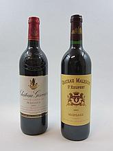 6 bouteilles 3 bts : CHÂTEAU GISCOURS 2003 3è GC Margaux