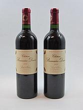6 bouteilles 4 bts : CHÂTEAU BRANAIRE DUCRU 2003 4è GC Saint Julien