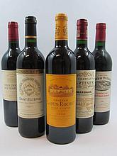 12 bouteilles 4 bts : CHÂTEAU DES TEMPLIERS 2000 Pomerol