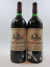 2 magnums CHÂTEAU BEYCHEVELLE 1975 4è GC Saint Julien (1 base goulot