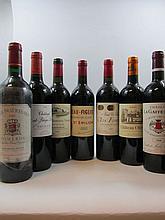8 bouteilles 1 bt : CHÂTEAU HAUT BAGES LIBERAL 2008 5è GC Pauillac