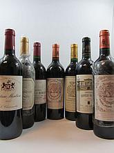 10 bouteilles 2 bts : CHÂTEAU LEOVILLE BARTON 2001 2è GC Saint Julien