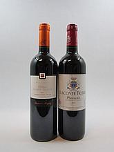 7 bouteilles 5 bts : CHÂTEAU LACOSTE BORIE 2005 Pauillac