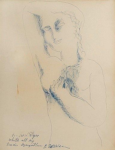 [Zadkine] A. de Ridder Ossip Zadkine Ed. des Chroniques du Jour, 1929. In-4 br. 1/60 ex. sur papie...
