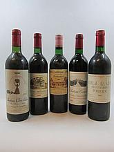 6 bouteilles 1 bt : CHÂTEAU LA GRAVE TRIGANT DE BOISSET 1982 Pomerol (étiquette fanée)
