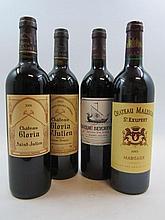9 bouteilles 3 bts : CHÂTEAU BEYCHEVELLE 2002 4è GC Saint Julien (étiquettes filmées)