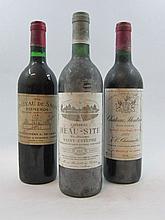 11 bouteilles 1 bt : CHÂTEAU BEAUSITE 1983 Saint Estèphe