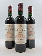 9 bouteilles 2 bts : CHÂTEAU MONCETS 2003 Lalande de Pomerol
