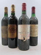 9 bouteilles 3 bts : CHÂTEAU BATAILLEY 1998 5è GC Pauillac