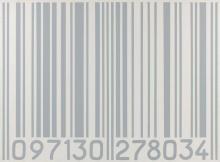 Vincent WAPLER ® 097130 278034 - 1990 Acrylique sur toile (gris sur blanc) accompagnée d'un cartel