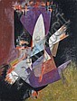 James PICHETTE (1920-1996) COMPOSITION, 1956 Huile sur toile, James Pichette, Click for value